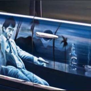 Аэрография отрывок изкинофильма сАль Пачино