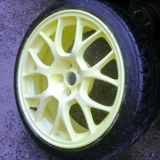 Желтые диски Honda Accord